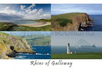 Rhins of Galloway Composite Postcard (HA6)