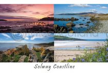 Solway Coastline Composite 1 Postcard (HA6)