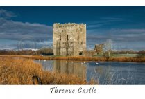 Threave Castle Postcard (HA6)