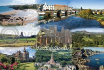 Scottish Borders Fusion Postcard (HA6)