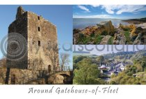 Getehouse of Fleet Composite Postcard (H A6 LY)