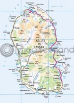 Arran Map Magnet (V) (Apr)