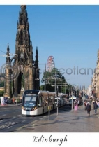 Edinburgh Tram on Princes Street (VA6)