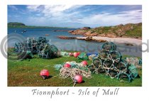 Fionnphort Beach, Ross of Mull Postcard (H A6 LY)