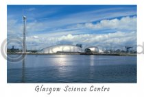 Glasgow Science Centre Postcard (HA6)