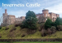 Inverness Castle Magnet (H)