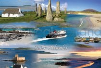 Outer Hebrides Fusion Postcard (HA6)