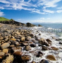 Shore, Applecross Colour Art Greetings Card (LY)
