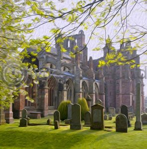 Melrose Abbey (Art)