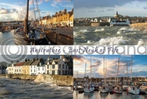 Anstruther, East Neuk of Fife Composite Postcard (HA6)