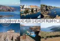 Eyemouth & St Abbs Composite Postcard (H A6 LY)