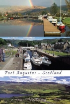 Fort Augustus Composite Postcard (V A6 LY)