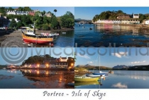 Portree, Isle of Skye Composite Postcard (HA6)