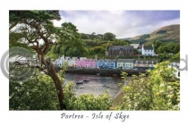 Portree, Isle of Skye Postcard (HA6)