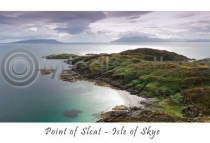 Point of Sleat, Isle of Skye Postcard (HA6)