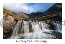 Fairy Pools, Isle of Skye Postcard (HA6)