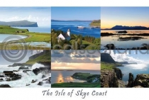 Isle of Skye Coast Composite Postcard (HA6)