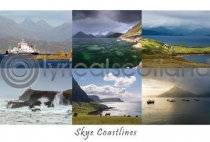 Skye Coastlines Composite Postcard (HA6)