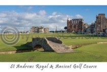 St Andrews Royal & Ancient Golf Course Postcard (H A6 LY)