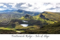 Trotternish Ridge, Isle of Skye Postcard (HA6)