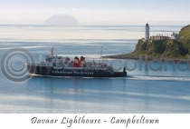 Davaar Lighthouse, Campbeltown Postcard (HA6)