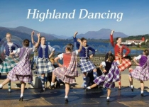 Highland Dancing Magnet (H LY)