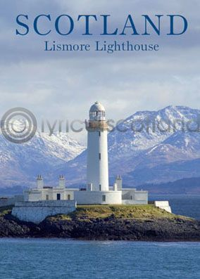 Scotland - Lismore Lighthouse Magnet (V)