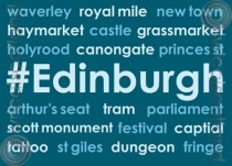 #Edinburgh Magnet (H LY)