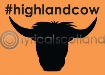 #highlandcow Magnet (H LY)