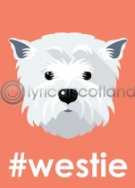 #westie Magnet (V LY)