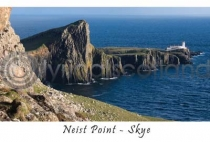 Neist Point, Isle of Skye Postcard (HA6)