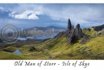 Old Man of Storr, Isle of Skye Postcard (HA6)