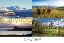 Isle of Mull Composite 1 Postcard (H A6 LY)