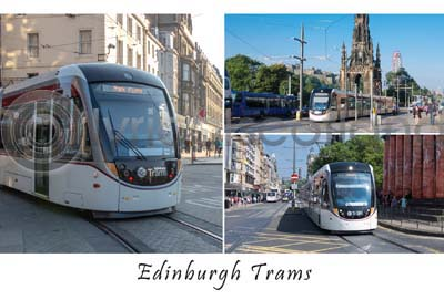 Edinburgh Trams Composite (HA6)