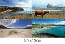 Isle of Mull Composite 2 Postcard (H A6 LY)