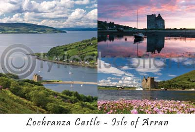 Lochranza Castle, Isle of Arran Composite (HA6)