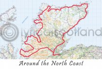 Around the North Coast Postcard (H A6 LY)