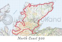 North Coast 500 Postcard (HA6)