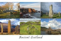 Ancient Scotland Composite Postcard (H A6 LY)