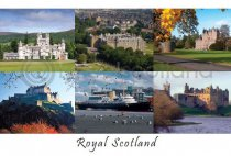 Royal Scotland Composite Postcard (HA6)
