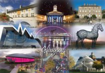 Glasgow Fusion Postcard (H A6 LY)