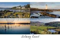 Solway Coast Composite 2 Postcard (HA6)