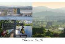 Threave Castle Composite Postcard (HA6)