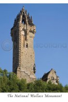 National Wallace Monument Classic Postcard (V A6 LY)