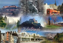 Edinburgh Fusion Postcard (HA6)