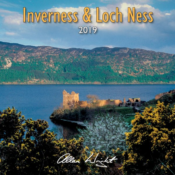 2019 Calendar Inverness & Loch Ness (Mar)