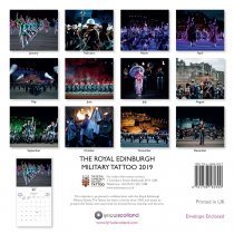 2019 Calendar Royal Edinburgh Military Tattoo (Mar)
