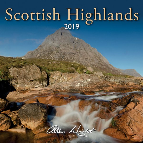 2019 Calendar Scottish Highlands (Mar)