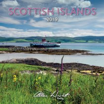 2019 Calendar Scottish Islands