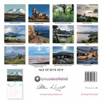2019 Calendar Isle of Skye (Mar)